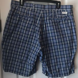 TEHAMA Shorts - Men's size 36 Tehama Cotton Plaid Shorts